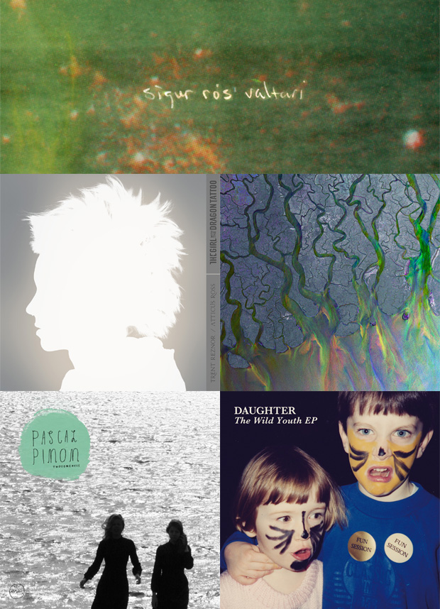 Most listened albums 2012